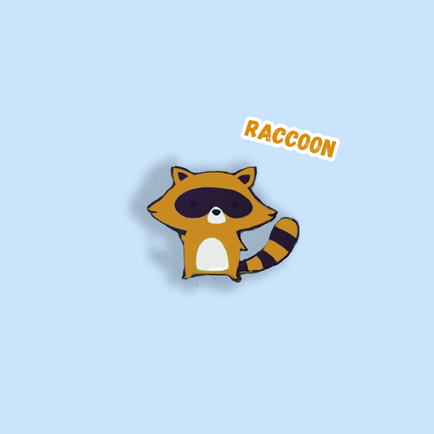 "Значок ""Raccoon"""